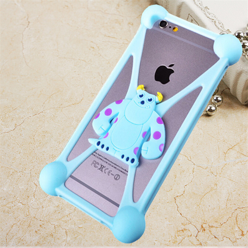 Lovely Cartoon Covers Cases For Fly ERA Energy 2 iq4401 3 iq4417 life 4 iq4409 5 iq4416 6 iq4503 mobile Phone bags silicon cover(China (Mainland))