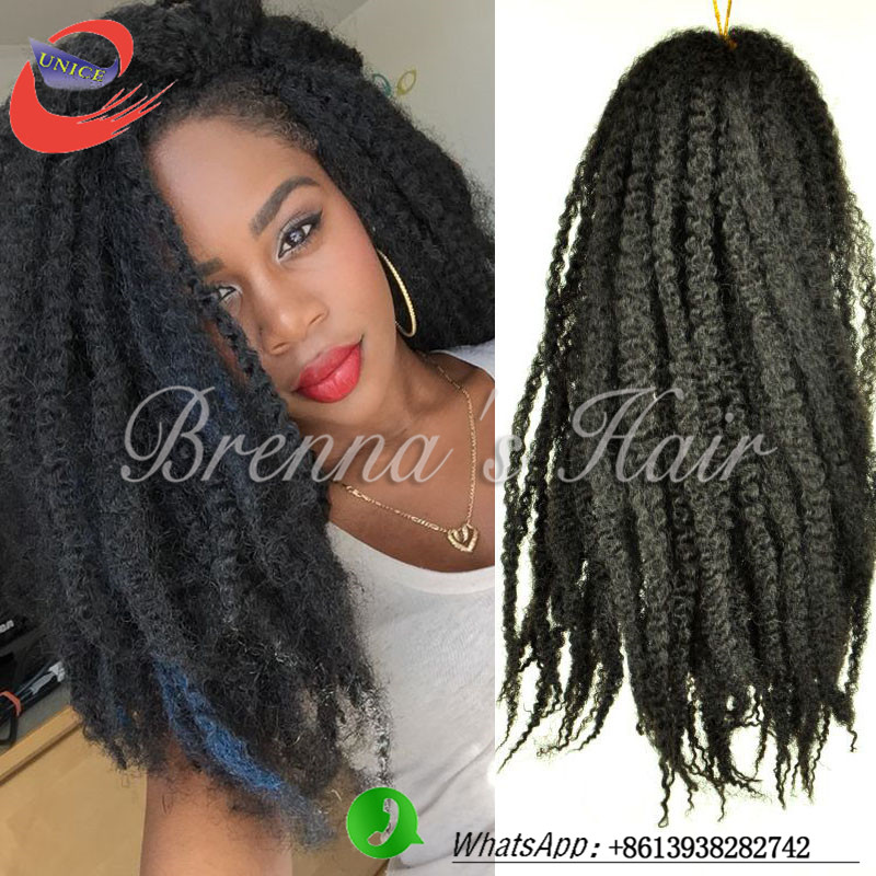 Crochet Afro : Crochet Braids With Marley Hair Afro - Braids