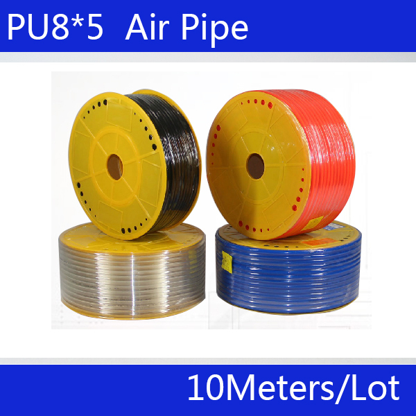 PU Pipe 8*5mm air & water 10M/lot Pneumatic parts pneumatic hose ID 5mm OD 8mm - China Chongqing assembly shops store