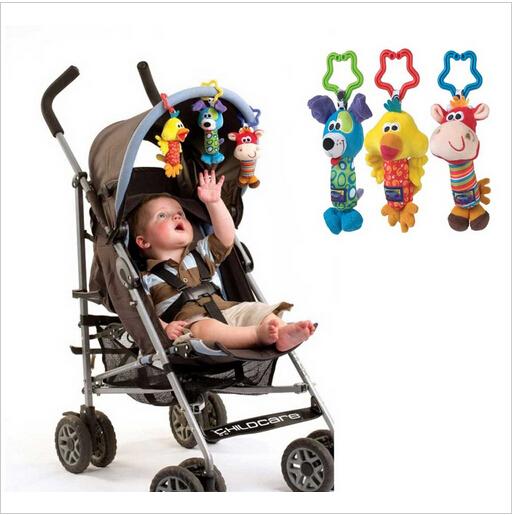 Детские игрушки гремят звон колокольчик многофункциональный плюшевые коляска бесплатная доставка