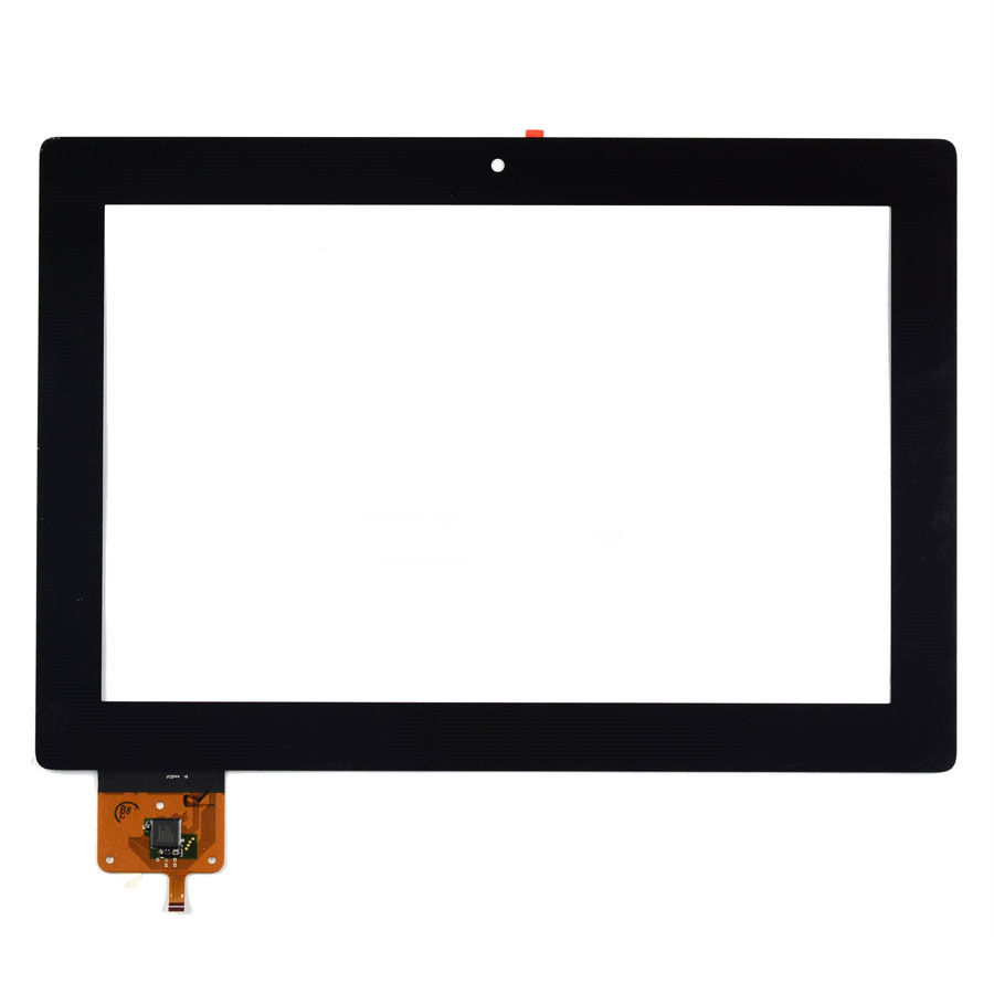 BLACK Touch digitizer Screen Glass Replacement For Lenovo IdeaTab S6000 free shipping(China (Mainland))