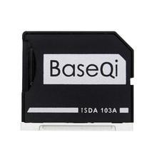 "BASEQI Aluminum MiniDrive Micro SD Card Adapter Memory Card Reader For Macbook Air 13"" Model 103A"