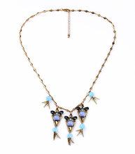 Thiết Kế thương hiệu Hợp Kim Kẽm Spike Shourouk Chain Bijuterias Đồ Trang Sức Vòng Cổ Đơn Giản Thời Trang Bijoux(China)
