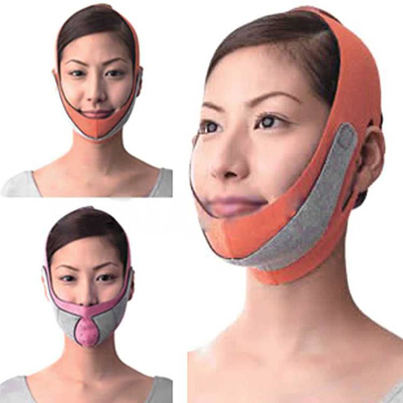 Health Care Thin Face Mask Slimming Facial Thin Masseter Double Chin Skin Care Thin Face Bandage Belt(China (Mainland))