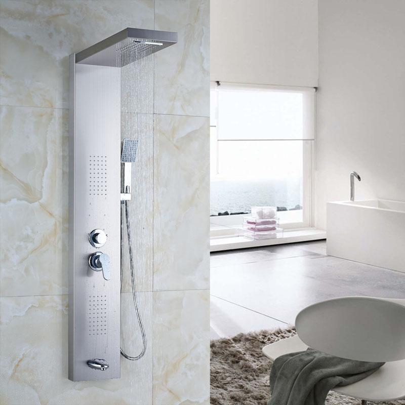 online kaufen gro handel edelstahl duschpaneel aus china edelstahl duschpaneel gro h ndler. Black Bedroom Furniture Sets. Home Design Ideas