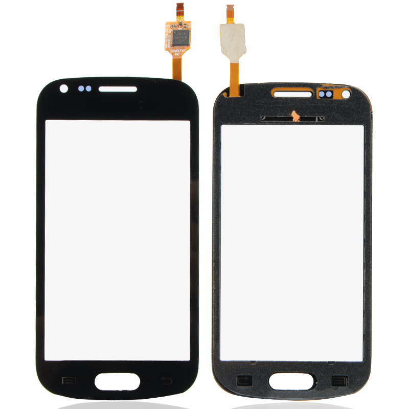Mobile Phone Touch Panel Replacement Touch Screen Digitizer For Samsung Galaxy S Duos GT-S7562 Black B0245(China (Mainland))