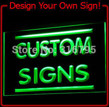 tm Custom Light Sign Order