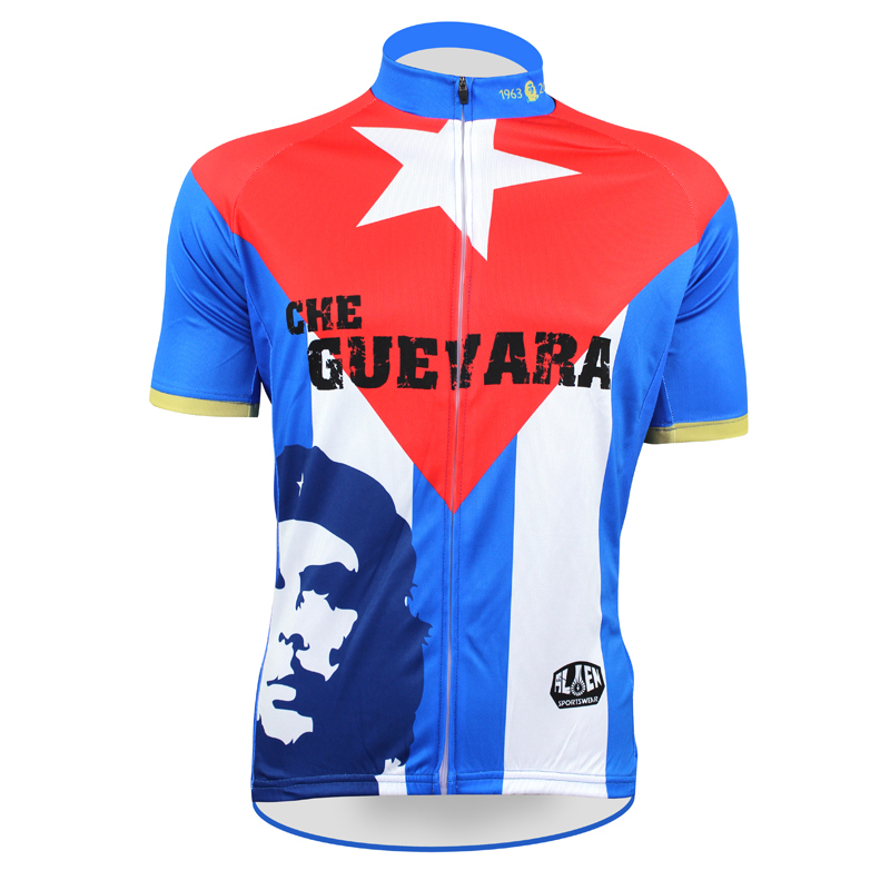 Classical CHE Guevara Series Cycling Jersey Utopia Forever Clothing Red Revolutionary Rock Roll Short Sleeve Bike Shirts - cycling jerseys' store