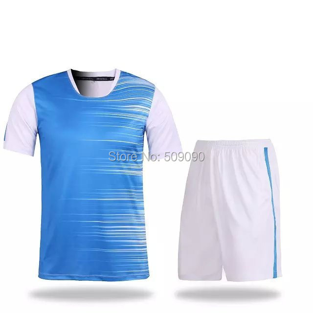 1516 Top Quality Adult No Logo No Bland Soccer Training Jersey Uniform Sports Clothing Red, Orange, Blue, Fluorescent Green Kit(China (Mainland))