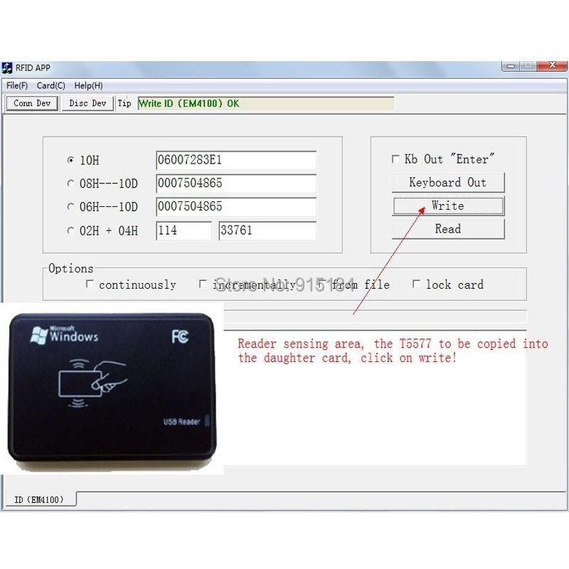 125KHz RFID ID Ca