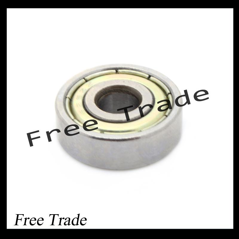 10PCS ABEC-7 Deep groove ball bearing 608ZZ 8X22X7 mm bearing steel 608 ZZ skating bearing(China (Mainland))