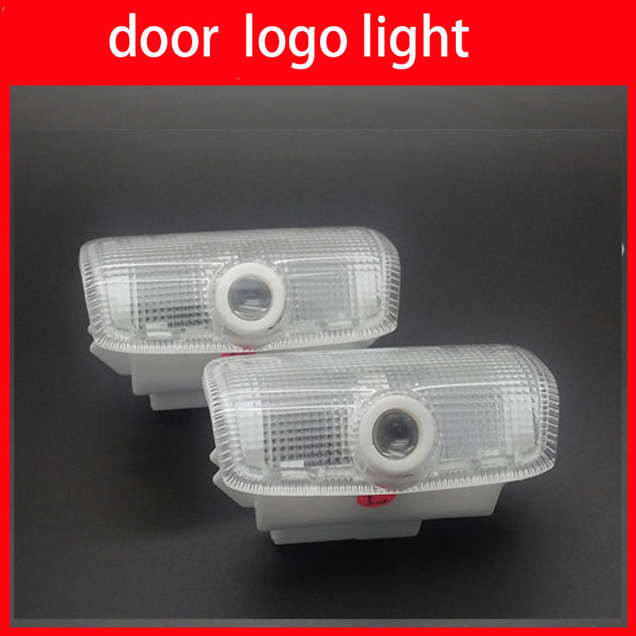 New arrival car led laser lamp 3d auto door logo light led for 12 light door