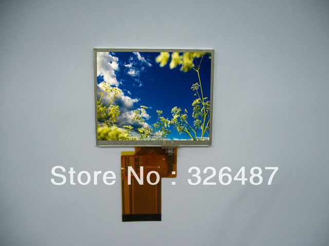 LCD Module JHD035QVNA-1 - 3.5'' TFT panel OUTLINE Display: 320RGB*240