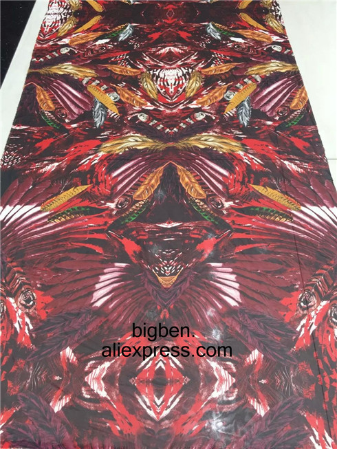 2016 New Fashion France Chiffon Fabrics Printing High Quality Textile Apparel Fabric Hot Sale(China (Mainland))