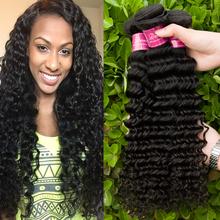 Deep Wave Brazilian Hair 4 Pcs Annabelle Hair Brazilian Virgin Hair Curly Brazilian Deep Wave Brazilian Deep Curly Virgin Hair