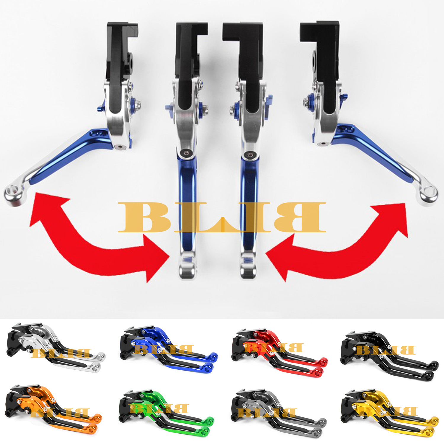 Bajaj Pulsar 200 NS Years Motorcycle Folding&Extending Brake Clutch Lever Hot Motocross Road CNC Levers - BLBL store
