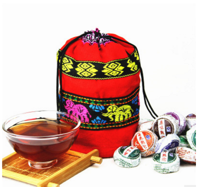 Free shipping Ten kinds of taste 50 little pu tuo tea mini cooked tuo tea puer tea<br><br>Aliexpress