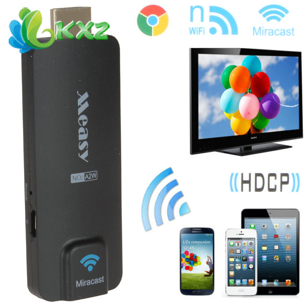 Mini Measy A2W Wireless Miracast TV Dongle WiFi HDMI Display HDTV Receiver(China (Mainland))