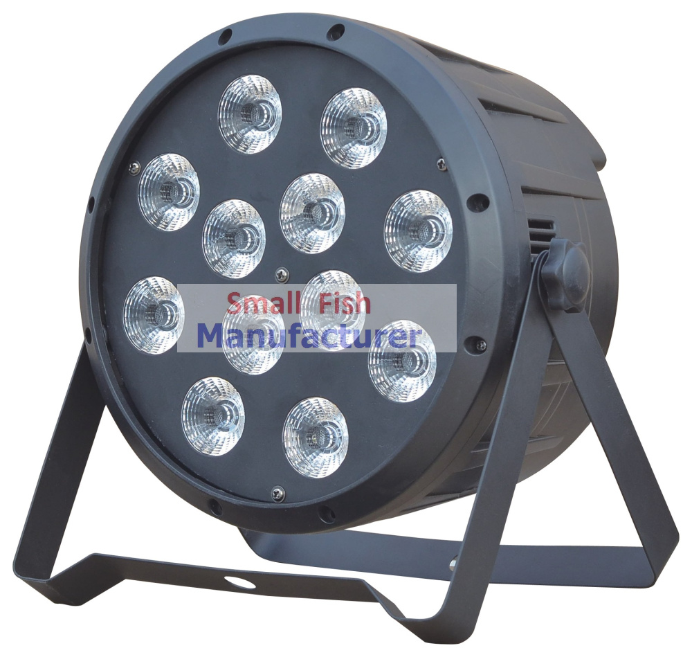 4XLot 12x10W 4in1 RGBW Led Par Light Professional Stage Lighting High Power LED Par Can With DMX512 DJ Disco Sound Equipments(China (Mainland))