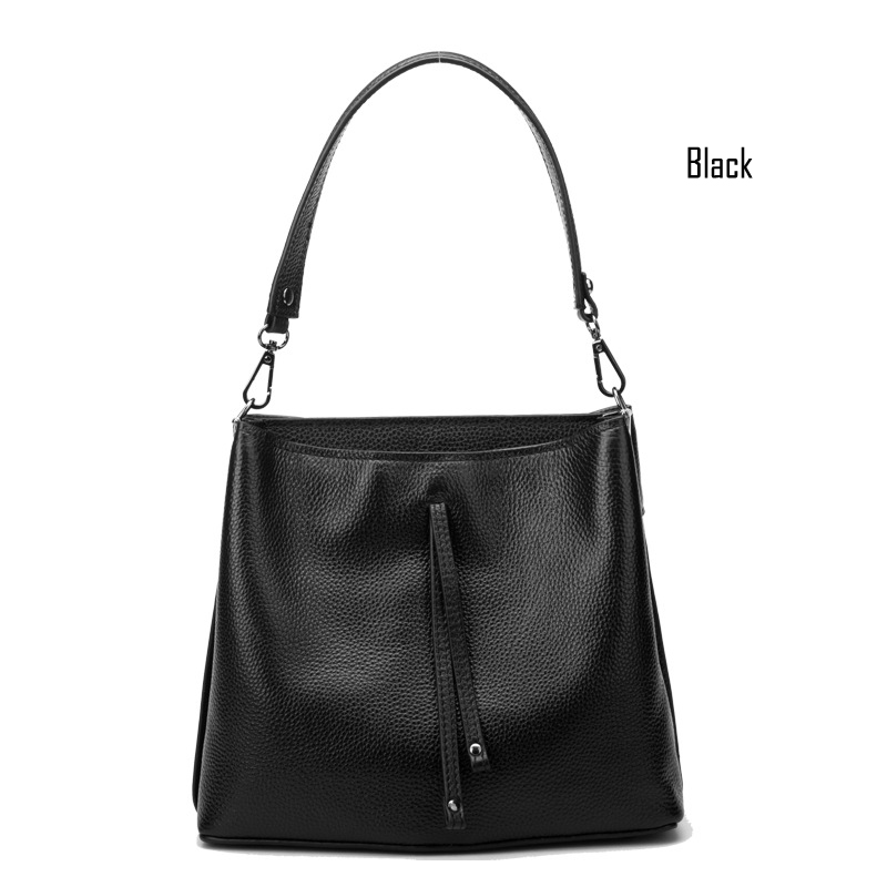 2016 New Fashion 100% Genuine Leather Women bags Famous Brand Head Layer Cowhide Messenger bags Casual Handbags Shoulder bags<br><br>Aliexpress