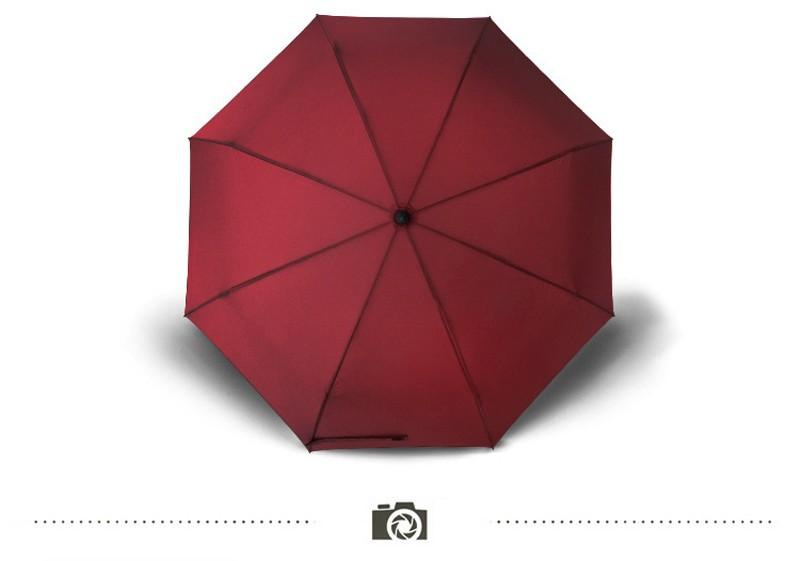cebf251e6571 Business Men Women Automatic Folding Umbrella Compact Super Windproof  Anti-UV Rain Sun Umbrella Women Men Tri-folded Umbrella - us188