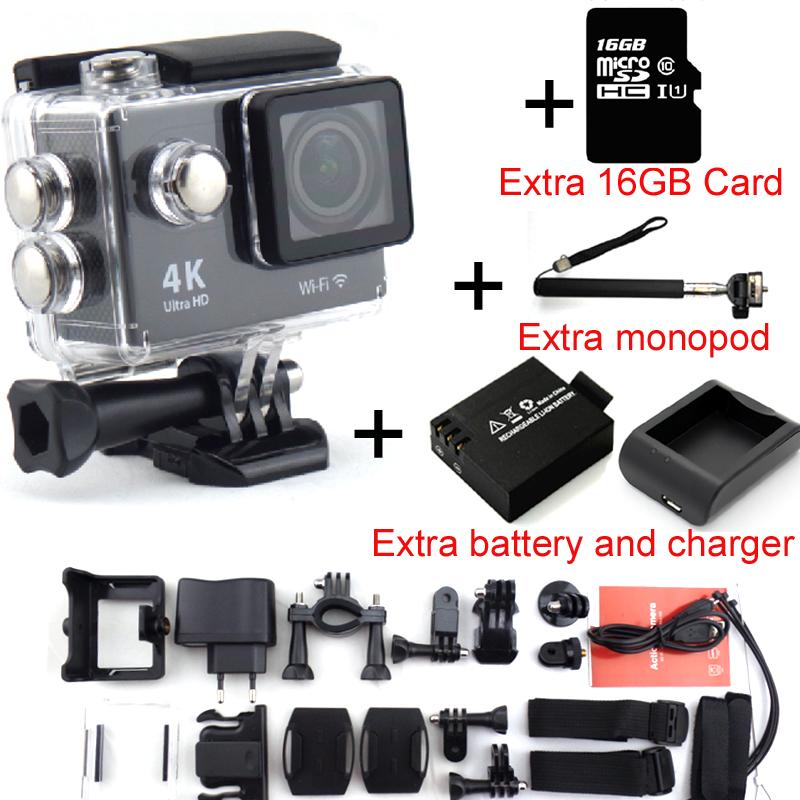 Action camera EKEN H9 Ultra HD 4K WiFi 1080P 60fps 2 0 LCD 170D lens Helmet