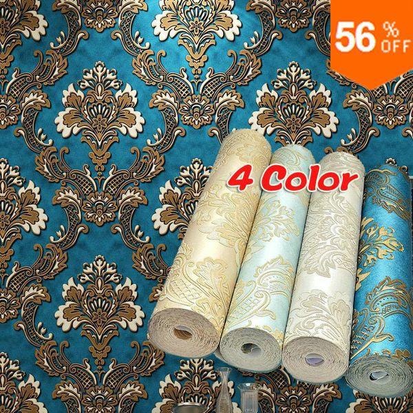 online kaufen gro handel barock tapete aus china barock tapete gro h ndler. Black Bedroom Furniture Sets. Home Design Ideas