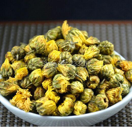 Promotion  100g China Genuine Hangzhou Chrysanthemum Tea Refreshing aromatic Flower Tea Blooming Tea Free Shipping