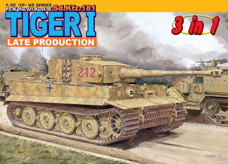 Dragon 1/35 Pz.Kpfw. VI Ausf.E Sd.Kfz.181 Tiger I Late Production # 6253<br><br>Aliexpress