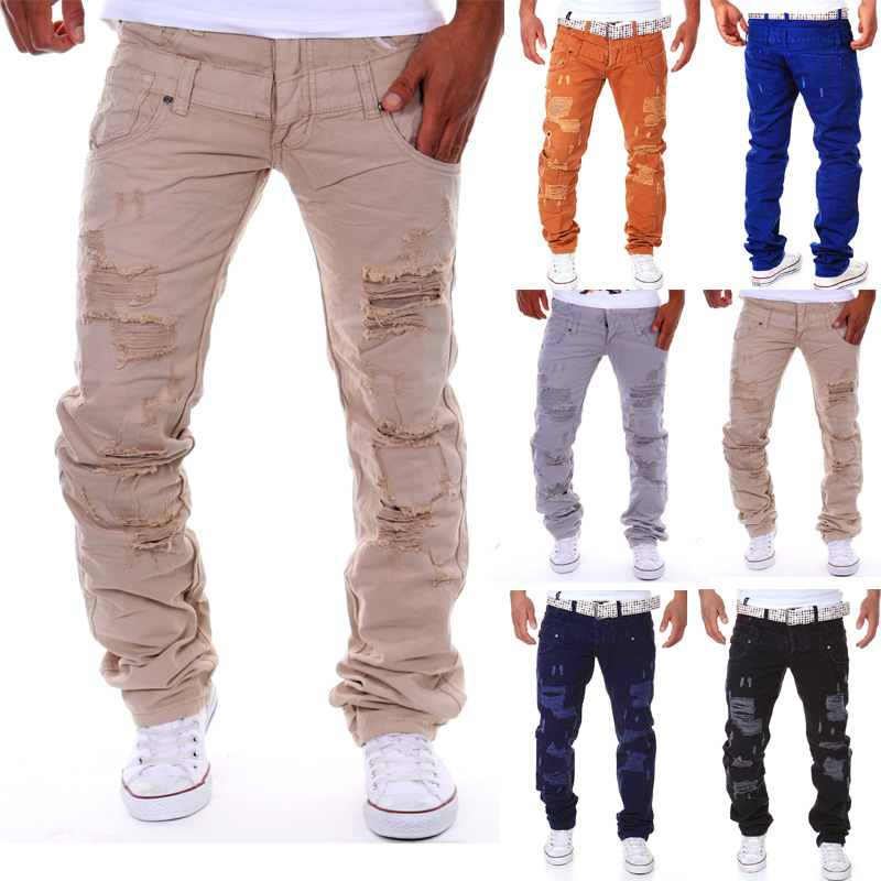 Online Get Cheap Mens Ripped Loose Jeans -Aliexpress.com | Alibaba ...
