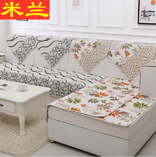 Europe Type Double Sided Non Slip Mat Of Cloth Art Sofa