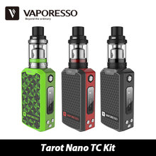 Buy Genuine 80W Vaporesso Tarot Nano TC Kit 2500mAh VECO EUC Tank 2ml Tarot MOD 80W OMNI Board w/ EUC Coil Vaping Kit for $44.95 in AliExpress store