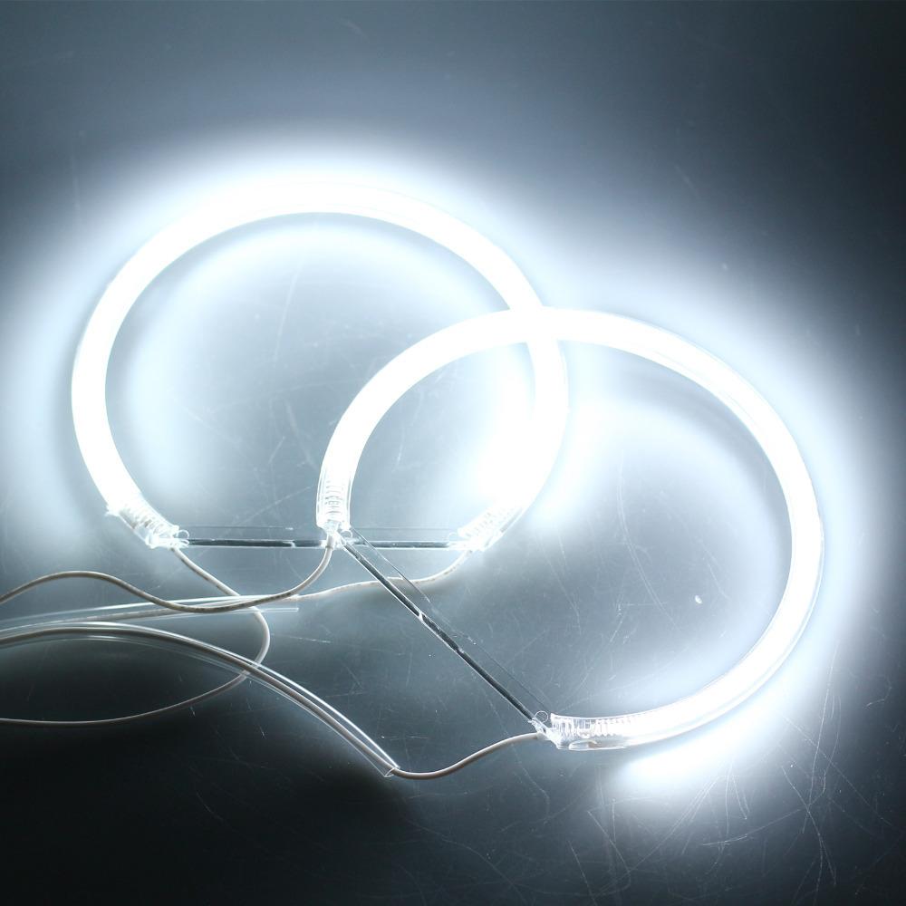 CCFL Car Angel Eagle Eyes Light Flexible Tube Headlight White Headlamp for BMW E36 3 E38 7 E39 5 E46 (131*2+146*2)(China (Mainland))