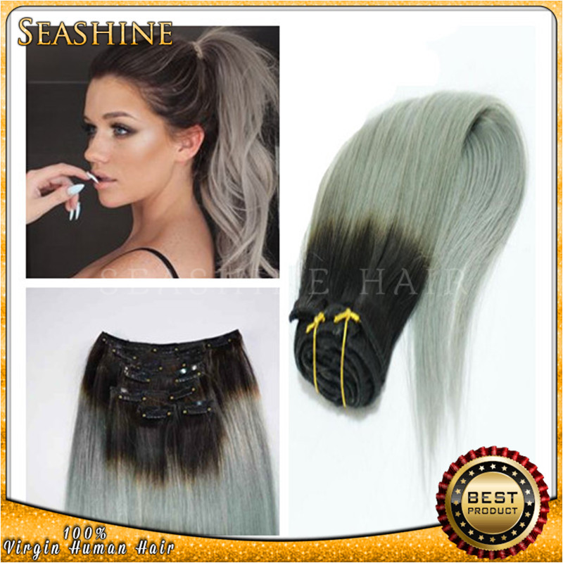 Ombre Clip In Hair Extensions Cheap 70