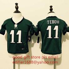 100% stitched baby Philadelphia Eagles toddler 7 Sam Bradford 11 Tim Tebow 29 DeMarco Murray 43 Darren Sproles(China (Mainland))