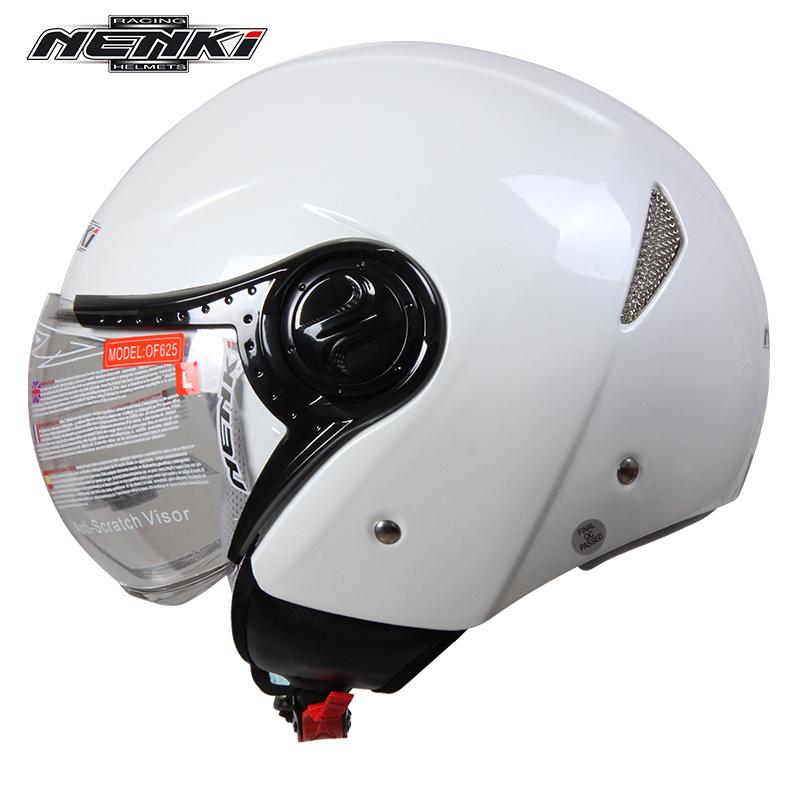 NENKI ABS Motorcycle Half Helmet Men Women Motorbike Motocross Helmet Casco Moto Removable Washable Liner 4 Season 625(China (Mainland))