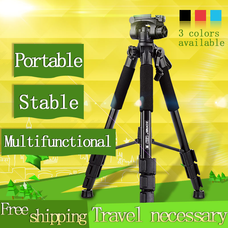 New Zomei Q111 Professional Aluminium Tripod Camera Accessories Stand with Pan Head for Dslr(China (Mainland))