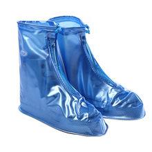 BARAT BERSEPEDA PVC Waterproof Sepatu Meliputi Sepeda Reusable Anti-slip Overshoes Hujan Booting Sepeda Motor Sepeda Bersepeda Pelindung(China)