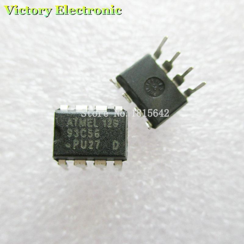 Гаджет  Original New 10PCS/Lot 93C56 AT93C56 DIP-8 Chip IC Wholesale Electronic None Электронные компоненты и материалы