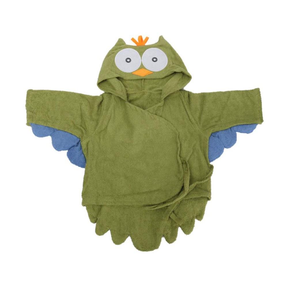 Бесплатная доставка 5 Цветs100 % Cuttons капюшоном животных детские халат мультфильм ребенка полотенцем характера дети банный халат детские полотенце