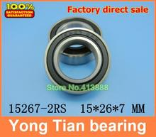 Bicycle wheel bearing repair parts MR1526 15267-2RS 15*26*7 mm ABEC-5
