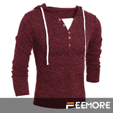 2015 new Men's Pullover Fashion High Collar Hedging Solid Sweate Knit Men Pull Homme Cotton Maglione Uomo Keep Warm Men Clothing(China (Mainland))