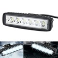 Vehicle 18W Flood LED Work Light ATV Off Road Light Lamp Fog Driving Light Bar For