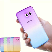 Buy Gradual Change Gradient Color Soft Back Case Rubber Cover Samsung S3 Neo Duos S4 S5 S6 S6edge S7 edge S7edge Note 3 4 5 for $1.13 in AliExpress store