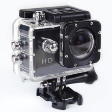 Action Camera  sliver 12MP SJ4000 Waterproof Car cam Sports Camera DV 720P HD Sport cam