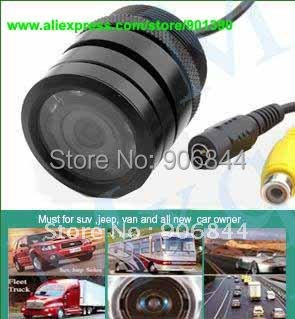 Car camera Night vision IR Car rear view back up reversing car Camera Wired Color Wide angle 3.6mm