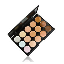 15 colors Face Concealer Neutral Palette 15 color Makeup tools scar cream Face Camouflage Body Foundation