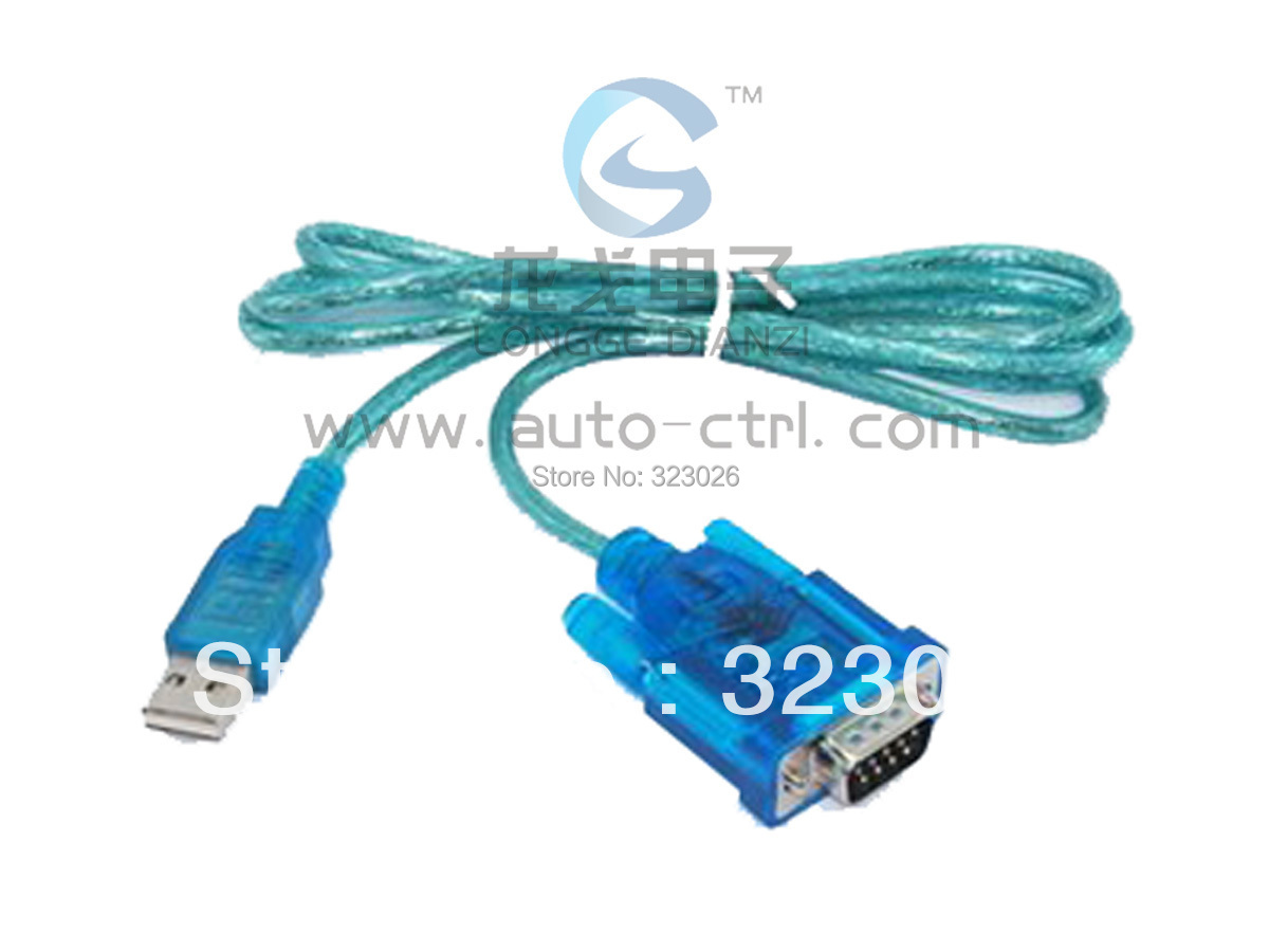usb to serial cable notebook serial line single chip download cable(China (Mainland))