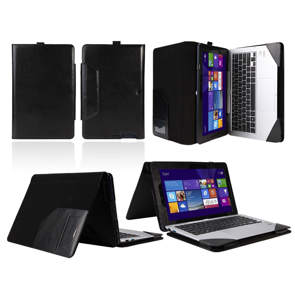 New 2 in1 Detachable Case Folio PU Keyboard Leather Case Cover For Asus Transformer Book T200 T200T T200TA 11.6 inch Tablet PC(China (Mainland))