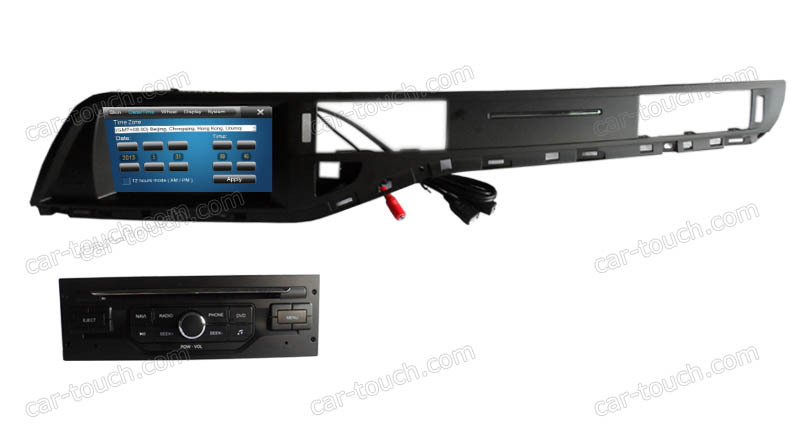 Touch Screen Car DVD Radio GPS navigation systems Citroen C5 - Cartouch Entertainment store